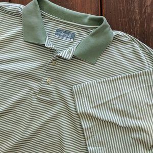 Golf Performance Polo, Sage Green, Size L